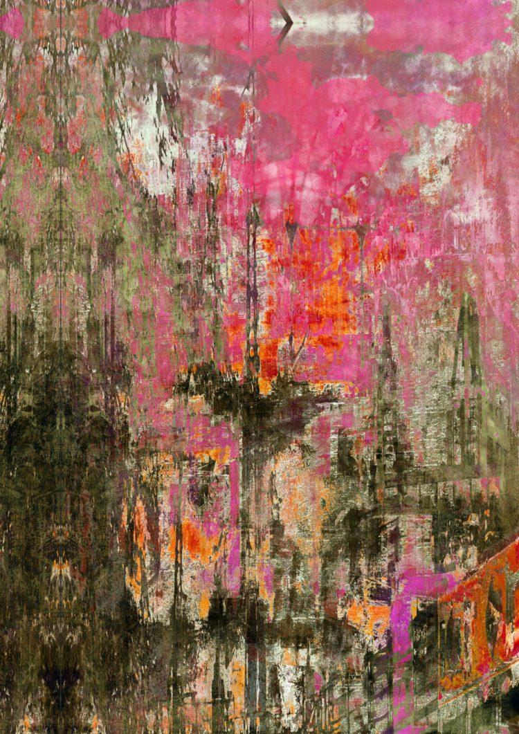 Morgenrot. Digitale Kunst von Julian Fahrenholz