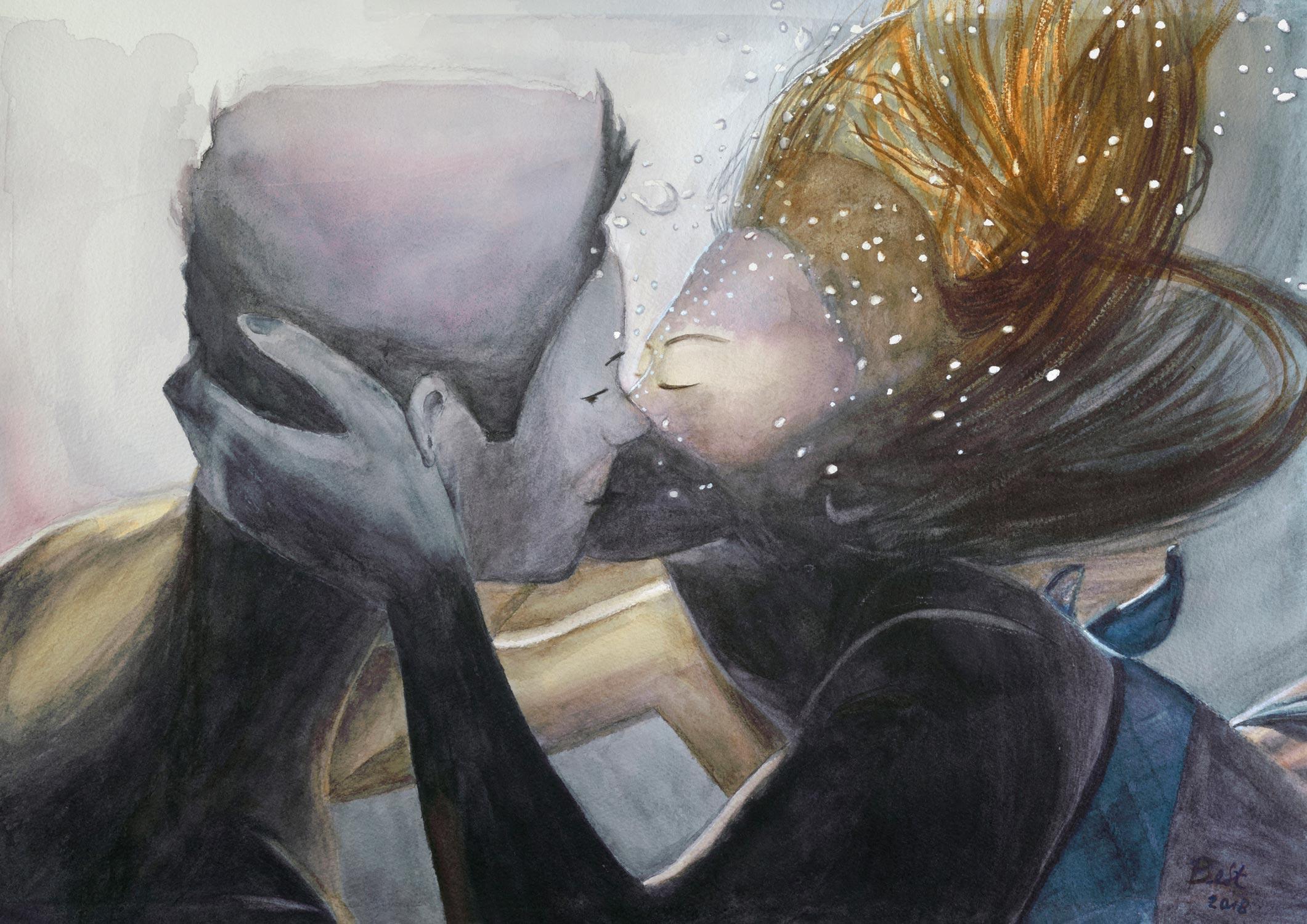 Underwater by Bettina Stegemann