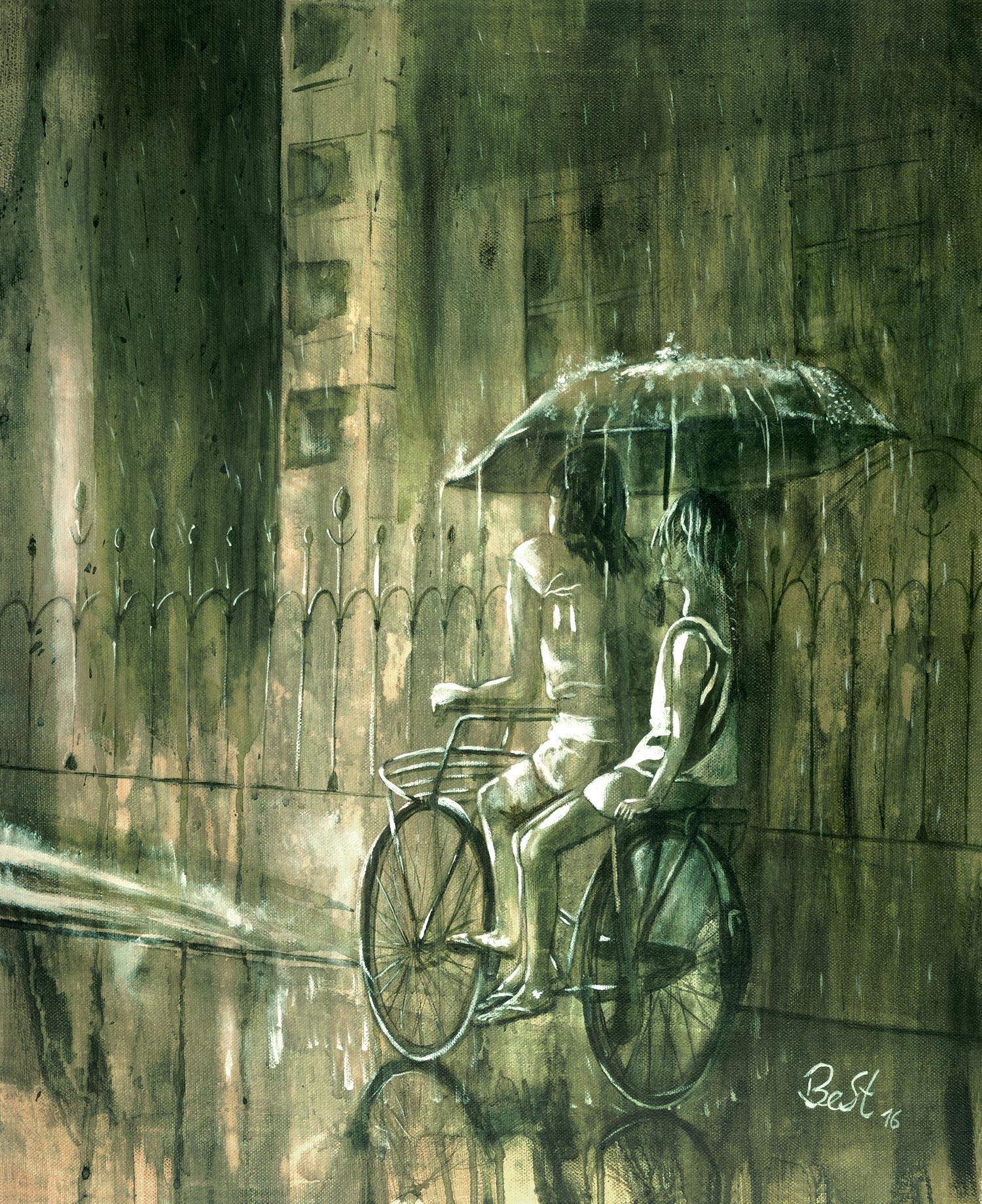 Summer Rain by Bettina Stegemann