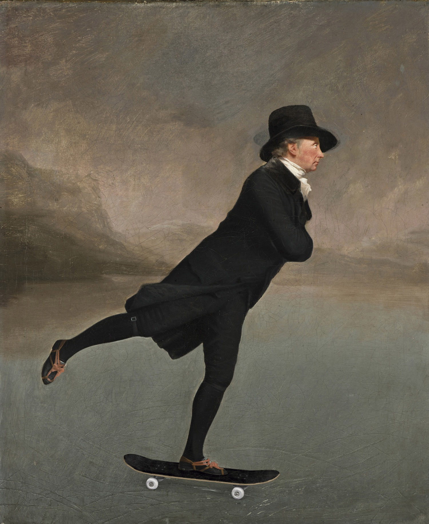 The Skating Minister Gonzalo Sainz