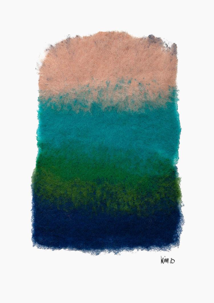 Luzia Sassen - Kim Kluge True Colours Felt Character Portraits friendmade